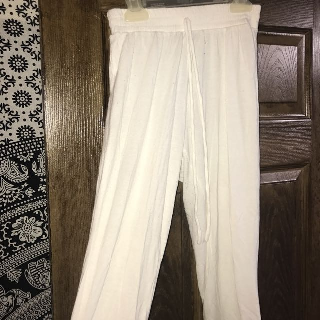 White Joggers/ Flowy Pants BUNDLE or solo