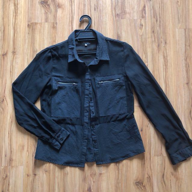 Zalora chiffon blouse
