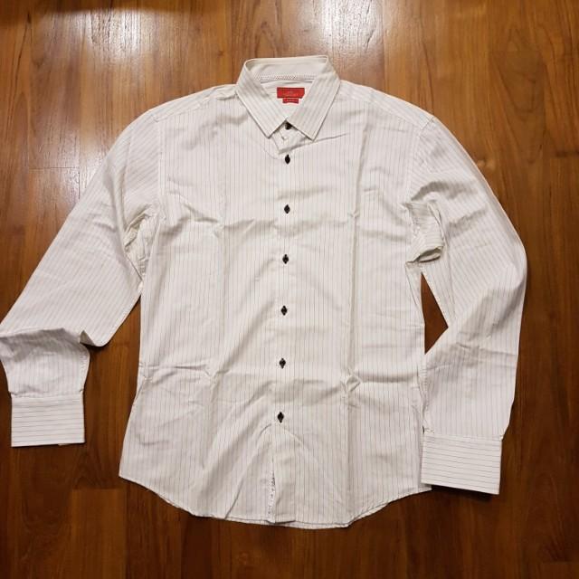 Zara Long Sleeve Kemeja Shirt