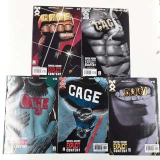 Cage (2002 Marvel MAX) Comics Set