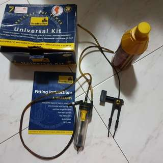 Scottoiler with dual injector kit