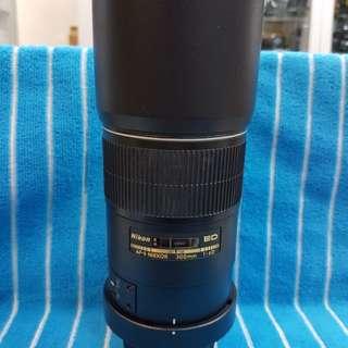 Nikon Afs 300/4 D Lens