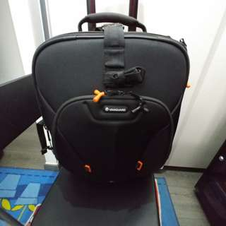 Rolling camera bag - Vanguard xcenior 48T. Excellent condition-special price for this week