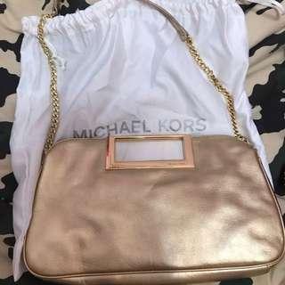Michael Kors gold chain bag / shoulder bag