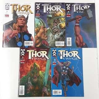 Thor Vikings (2003 Marvel MAX) Comics Set