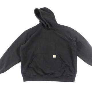 Distressed Carhartt Hooded Sweater