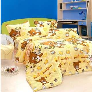 Full set cute 100% Cotton bedsheet Customizable size