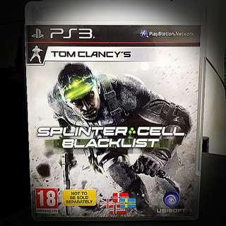PS3 @ Splinter Cell : Blacklist