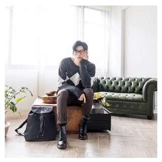 [全新]韓國直送男裝背包