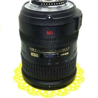 Nikon 18-200mm AF-S Zoom Telephoto Lens