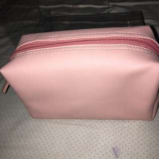 Make up baby pink pouch