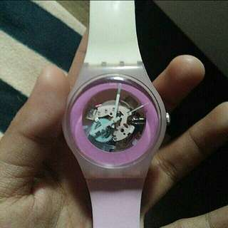 Pink Swiss Swatch
