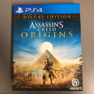 Assasin creed origins deluxe edition