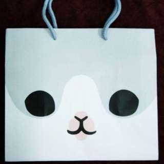 ㄇㄚˊ幾兔 麻幾兔 限定 紙袋 提袋 麻吉兔 machiko 台灣 餐廳 Yukiji