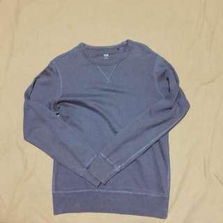 Uniqlo Blue Grey Pullover