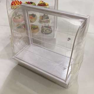 Dollhouse Acrylic Cake Display Cupboard
