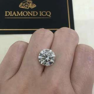 😱有冇唸過廿幾萬可以買到5卡鑽石呢?機會黎啦🤩 Have you ever thought of buying a 5 carat diamond at price as low as $298000?!!!