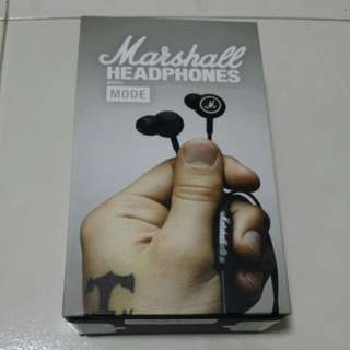 Marshall Mode Earpiece with mic