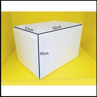Sterofoam box styrofoam tempat es