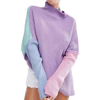 Multicolor Knitted Sweater/ Jumper