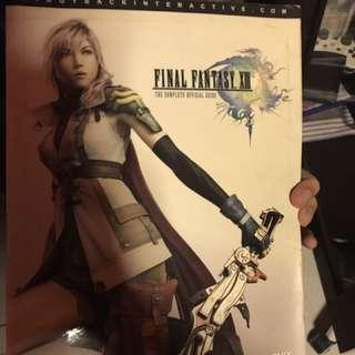 Final fantasy 13 guide book