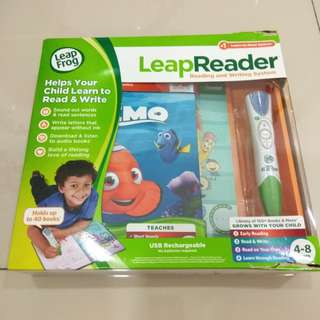 Leap reader reading and writing system