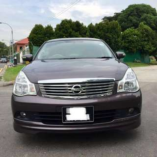 Nissan sylphy  1.5A for rent(Ready for grab & uber use) more details below