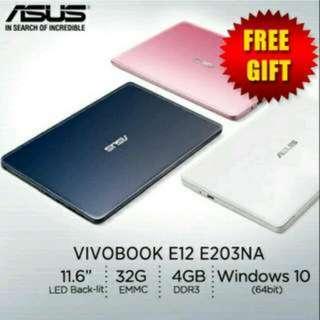 Asus Vivobook E203NA + (Free) Canon Wireless Presenter
