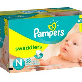 "Brand new ""newborn"" swaddler diapers"