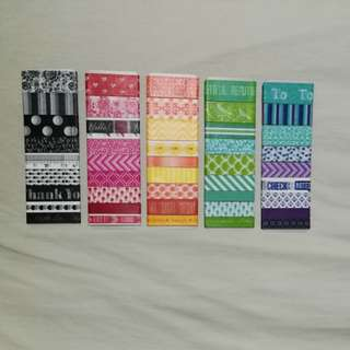 Recollections washi tape sampler