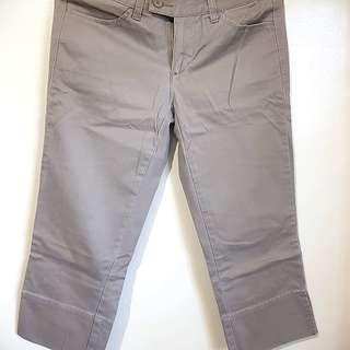 Giordano Khaki Cropped Pants