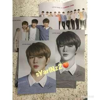 Wanna One X Lens Nine Posters/Bromides #MidJan55