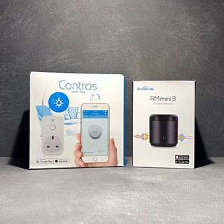 Broadlink Bundle 1 - Rm Mini & SP2 - Smart Home