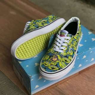 "Toys story x vans era alien / true white ""glow in the dark"""