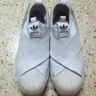 Adidas Slip On (White AUTHENTIC)