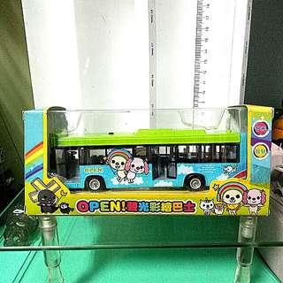 OPEN 聲光彩繪巴士