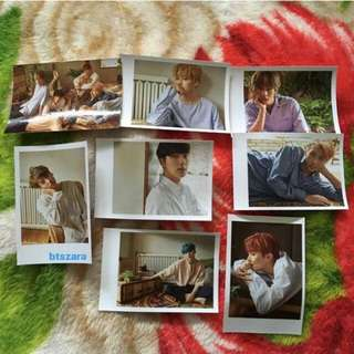 BTS L.O.V.E VERSION PHOTOCARD SET