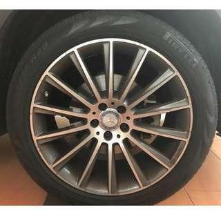 PIRELLI Scorpion Verde Run Flat Tyres 255/45R20