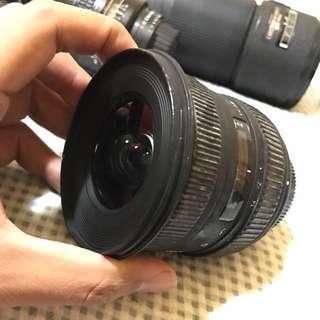 Sigma 10-20mm f4-5.6 (Nikon mount) Lens