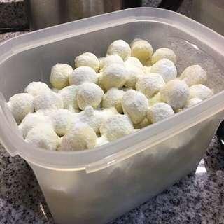 粿毛毛 Homemade CNY Cookies KuehMoMo (6 Feb 2018)