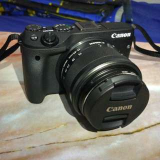 Canon EOS M3 Hitam - Datascrip