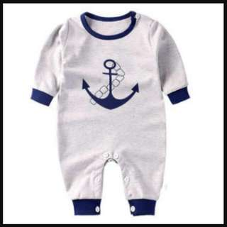 98173F Sailor Long Sleeve Jumpsuit