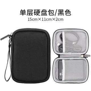 Xiaomi Powerbank Pouch Harddisk Pouch Cables Pouch Accessories Black Grey