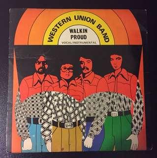 "Western Union Band -Walkin Proud (1975) Singapore Pop Rock EP 7"" Record Vinyl Levi's"