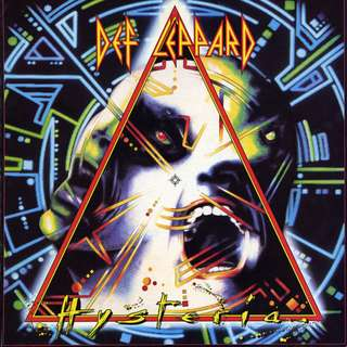 Vg+ def leppard hysteria record vinyl rock uk press