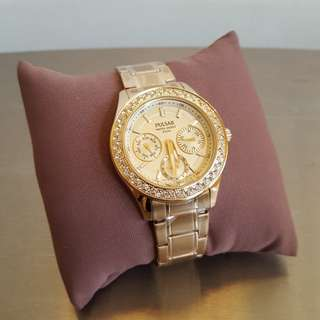 Pulsar ladies crystals watch