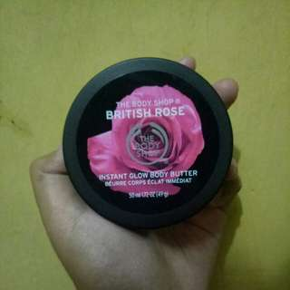 The Body Shop Body Butter British Rose Instant Glow