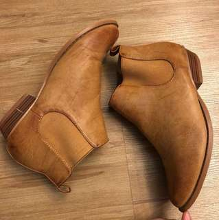 Camel Chelsea Boots