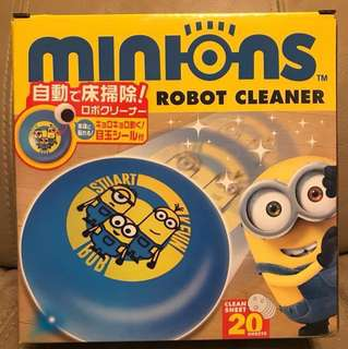 minion robot cleaner 壞蛋獎門人 小小兵 地板清潔機器人