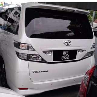 Toyota Vellfire 2.4 (A)